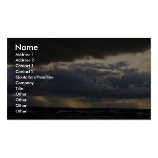 Stratocumulus pacífico tarjeta de visita