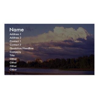 Stratocumulus pacífico tarjetas de visita
