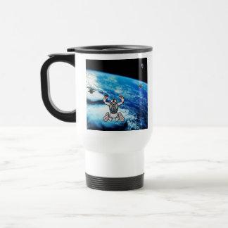 StratoJump Travel Mug - Two Dudes and a Monkey