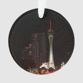 Stratosphere Tower Las Vegas Christmas Ornament