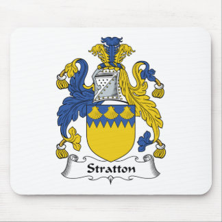 Stratton Family Crest Mouse Mat