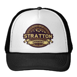 Stratton Logo Sepia Trucker Hat