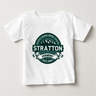 """Stratton Logo """"Vermont Green"""" Baby T-Shirt"""
