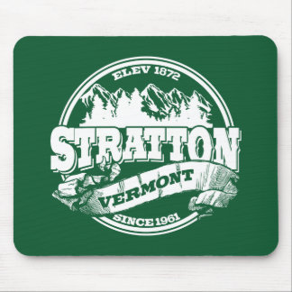 Stratton Old Circle Green Mouse Pad