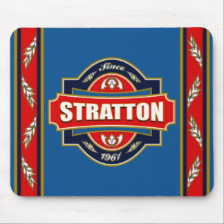 Stratton Old Label Mousepads