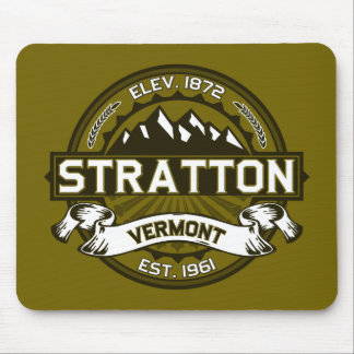 Stratton Olive Mouse Pads