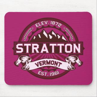 Stratton Raspberry Mouse Pad