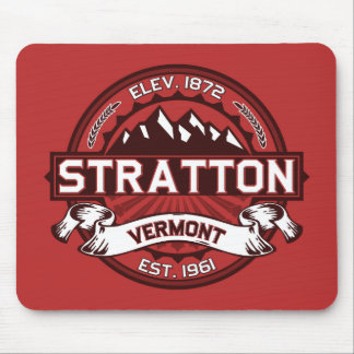 Stratton Red Mouse Pads