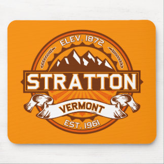 Stratton Tangerine Mouse Pad
