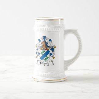 Straub Family Crest Beer Stein
