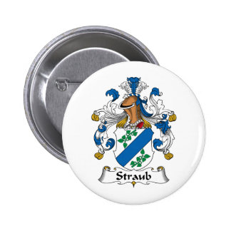 Straub Family Crest Pin
