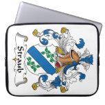 Straub Family Crest Laptop Sleeve