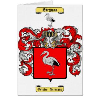 strauss greeting card