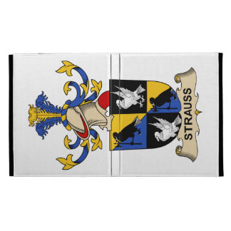 Strauss Family Crest iPad Folio Cover