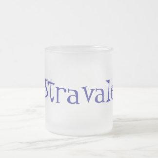 Stravale Frosted Glass Coffee Mug