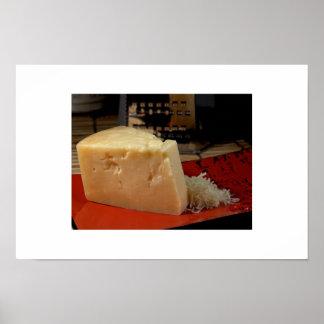 Stravecchio Parmesan Cheese Poster