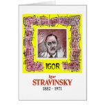 Stravinsky Felicitaciones