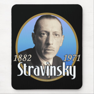 Stravinsky Mouse Pad