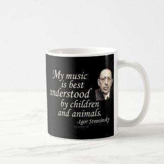 Stravinsky on Understanding Coffee Mug