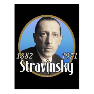 Stravinsky Postcard