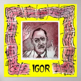 Stravinsky print