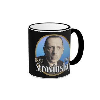 Stravinsky Taza De Dos Colores
