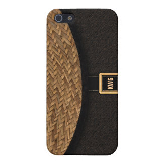 Straw Clutch Bag Cases For iPhone 5