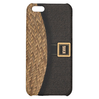 Straw Clutch Bag Case For iPhone 5C