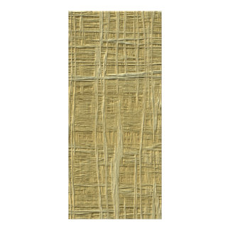 straw pattern rack cards