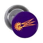 Straw star paja estrella cometa comet pins