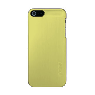 STRAW (the color of hay / pale yellow) ~ Metallic Phone Case For iPhone SE/5/5s