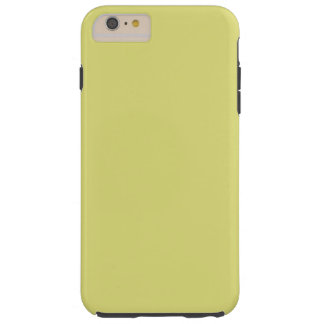 STRAW (the color of hay / pale yellow) ~ Tough iPhone 6 Plus Case