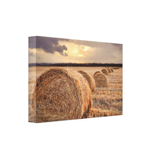 Straw Wrapped Canvas