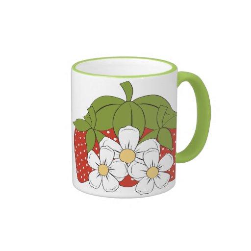 Strawberries 3 Mug