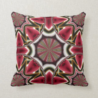 Strawberries Abstract American MoJo Pillow
