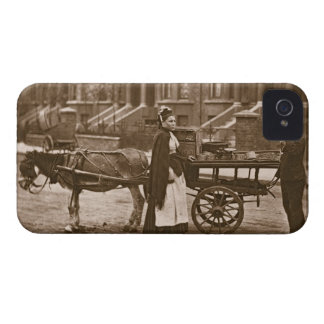 'Strawberries - all ripe, all ripe!', 1876-78 (woo iPhone 4 Case-Mate Case