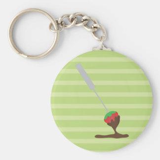 Strawberries and Chocolate Fondue Keychain