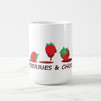 Strawberries and Chocolate Classic White Coffee Mug