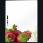 "Strawberries and Cream Board<br><div class=""desc"">Board with photo of strawberries and cream</div>"
