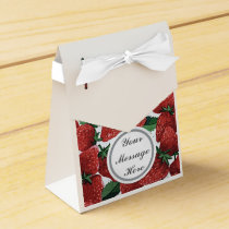 Strawberries and Cream Favor Box