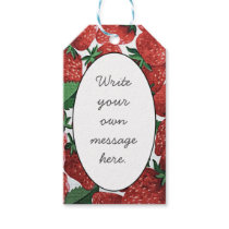 Strawberries and Cream Gift Tags