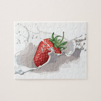 Strawberries and Cream jigsaw puzzle