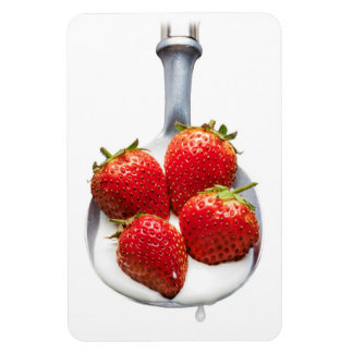 Strawberries and Cream Magnet