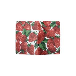 Strawberries and Cream Passport Holder