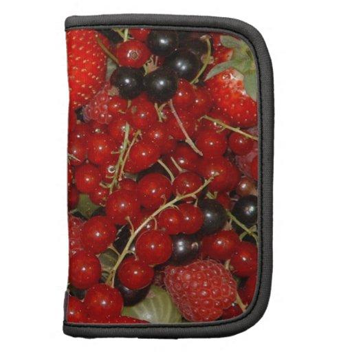 Strawberries, and summer fruits organizer