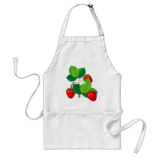 Strawberries Apron