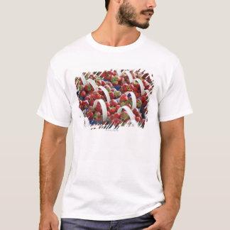 Strawberries at a market stall T-Shirt