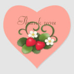 Strawberries & Banner シール