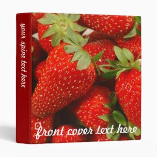 Strawberries Binder