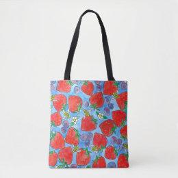 blueberry handbag
